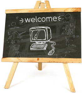 Resources - Welcome Chalkboard